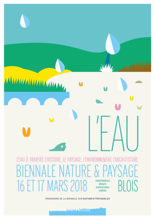 Biennale Nature & Paysage, l'eau, Blois