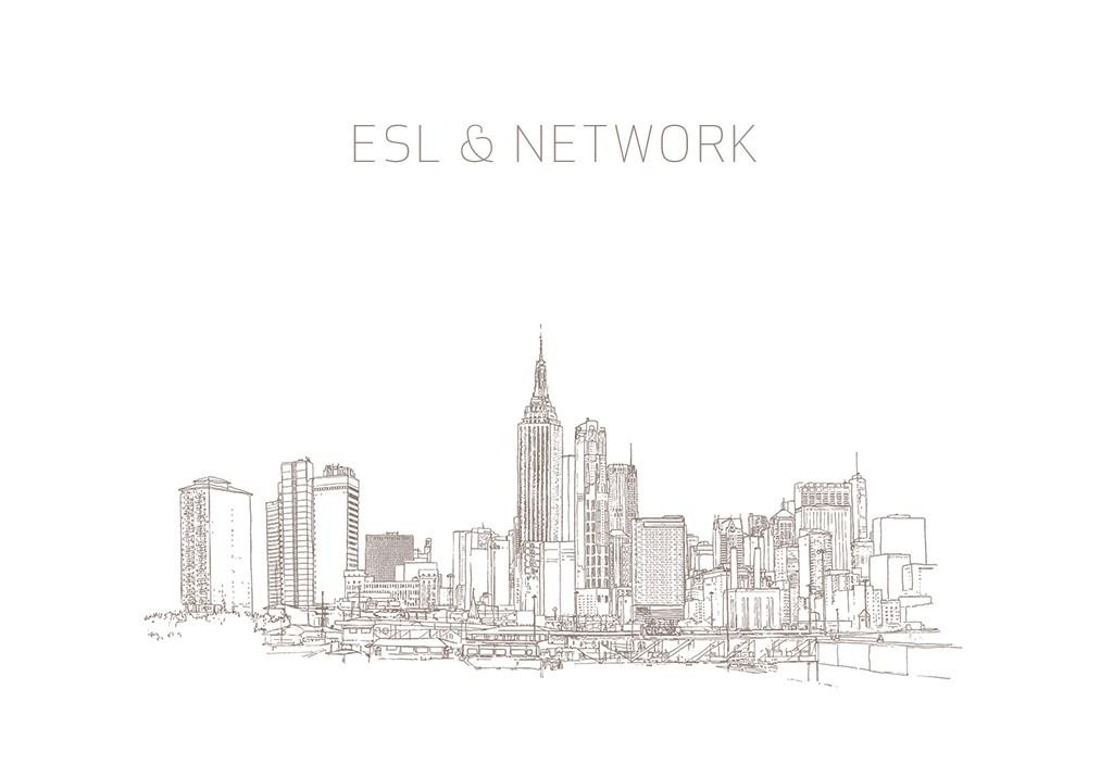 ESL & Network / Édition_1